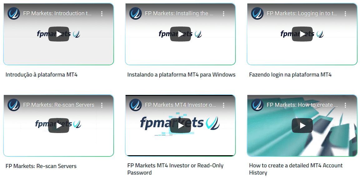 FP Markets Treinamento