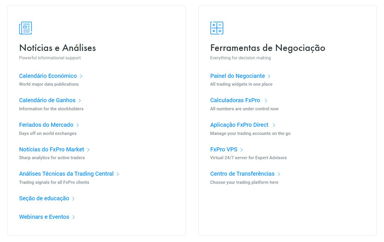 FxPro Treinamento