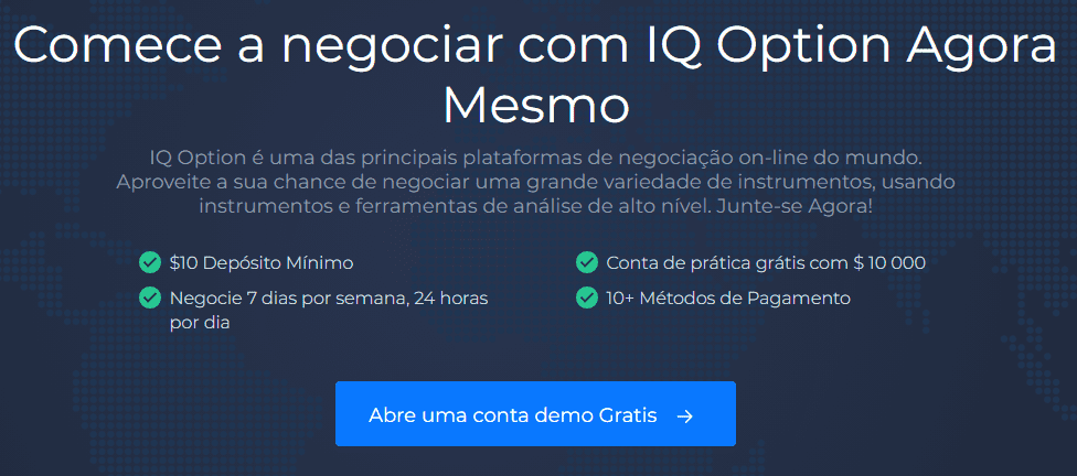 IQ Option Abertura de Conta