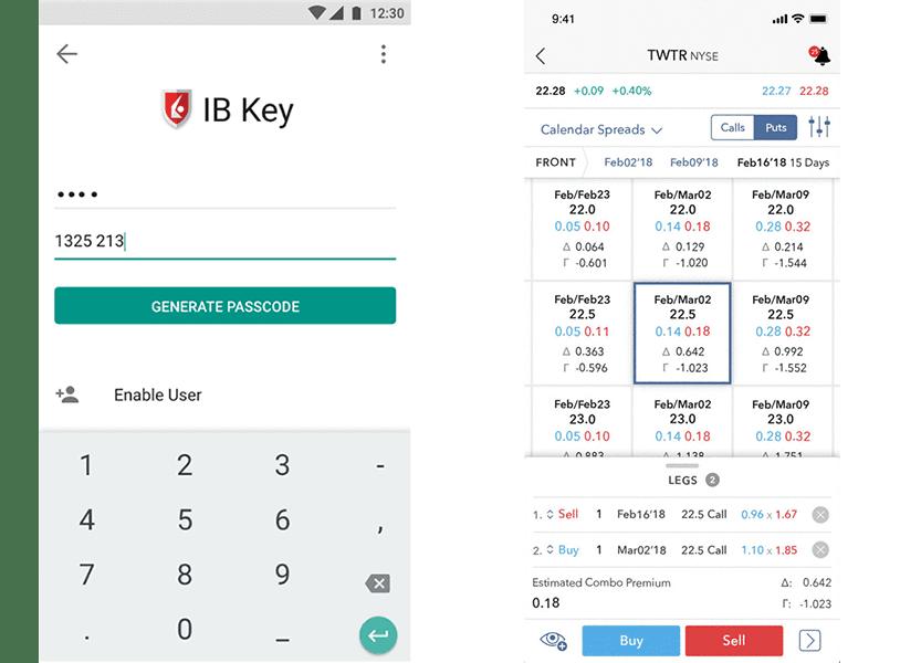 Interactive Brokers Aplicativo Móvel