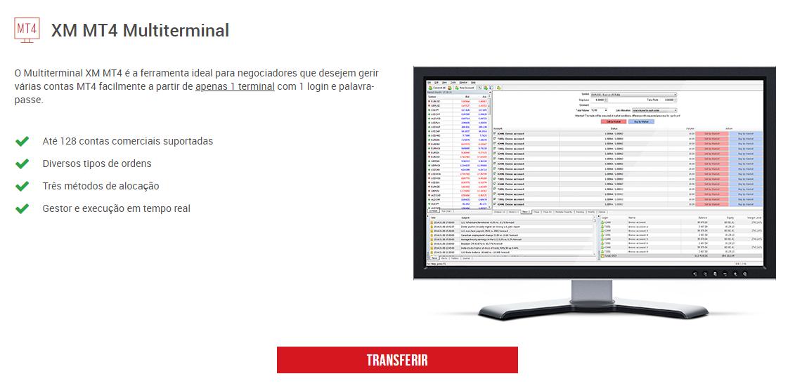 XM Plataformas de Trading MT4 Multiterminal