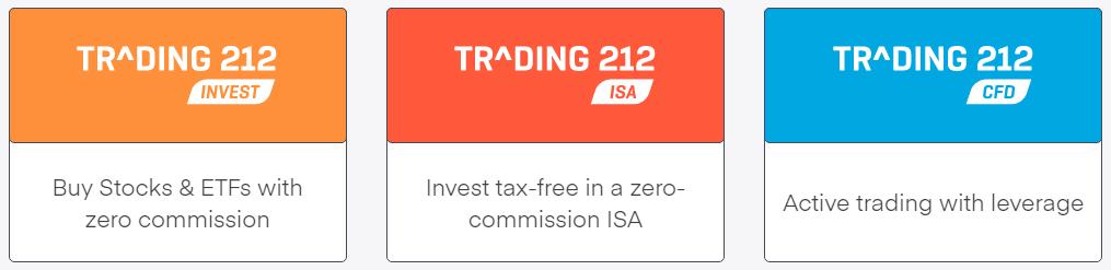Trading 212 Taxas de Negociação